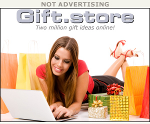hypothetical ad for gift.store